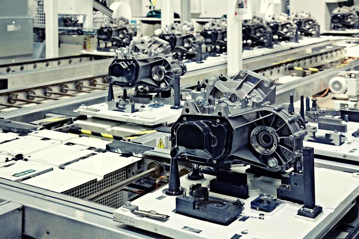 Montage mechanischer Komponenten Mafalda Industries
