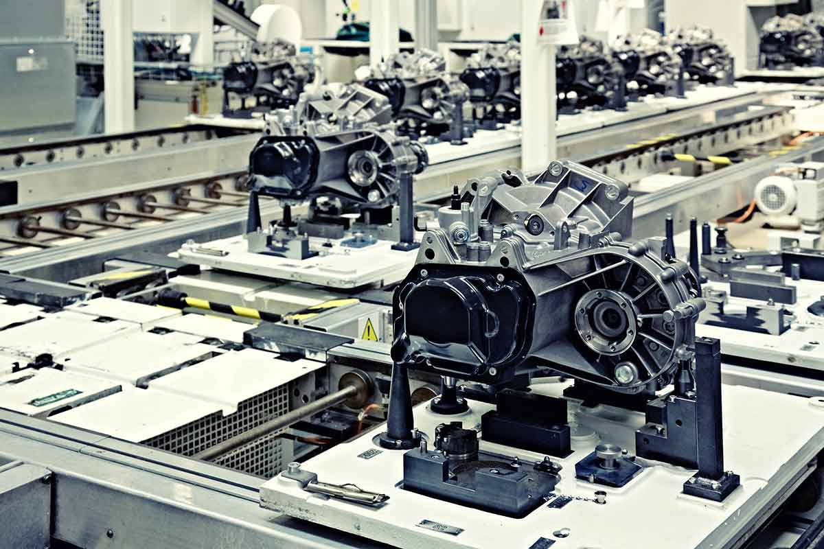 Mechanical components assembly