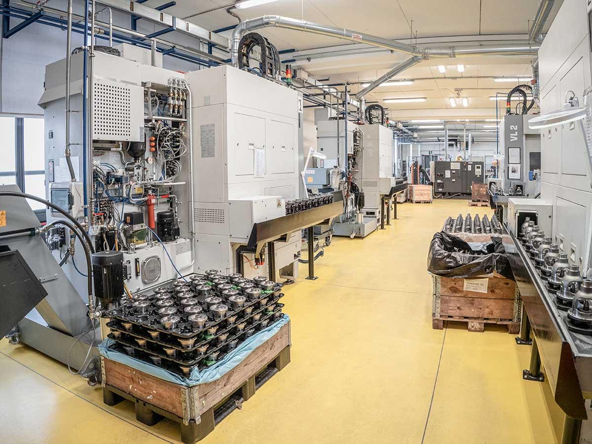 machines de l'industrie automobile